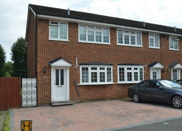 Thumbnail 2 bed end terrace house for sale in Freshfields, Shirley, Croydon, Surrey