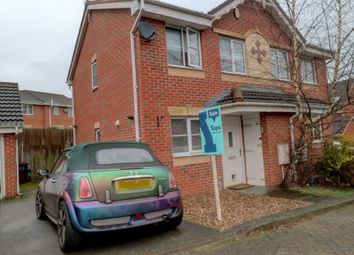 Thumbnail 2 bed semi-detached house for sale in Bratton Drive, Nottingham