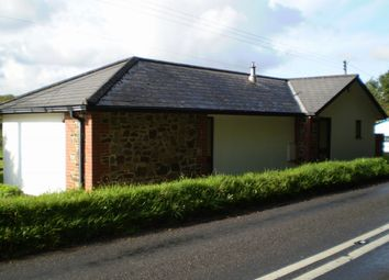 Thumbnail 2 bed detached bungalow to rent in Chawleigh, Chulmleigh