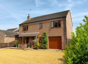 Thumbnail 4 bed detached house for sale in Front Road, Murrow, Cambridgeshire