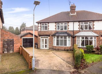 Thumbnail 3 bed semi-detached house for sale in Woodland Grove, Woodthorpe, Nottingham