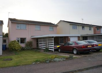 Thumbnail 3 bed detached house for sale in Chaplin Road, East Bergholt, Colchester, Suffolk