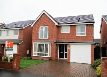 Thumbnail 4 bedroom detached house for sale in Oval Drive, Wolverhampton