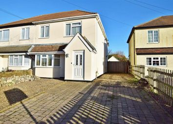 Thumbnail 4 bed semi-detached house for sale in Main Road, Longfield Hill, Longfield, Kent