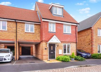 Thumbnail 4 bed semi-detached house for sale in Barn Owl Way, Didcot
