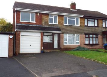 Thumbnail 5 bedroom semi-detached house for sale in Greenfields Road, Walsall, West Midlands