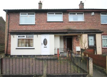 Thumbnail 3 bed town house for sale in Cedar Avenue, Little Lever, Bolton