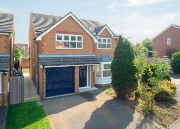 Thumbnail 4 bed detached house for sale in Bell Chapel Close, Park Farm, Ashford