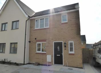 Thumbnail 3 bed semi-detached house to rent in Kittiwake Court, Bude, Cornwall