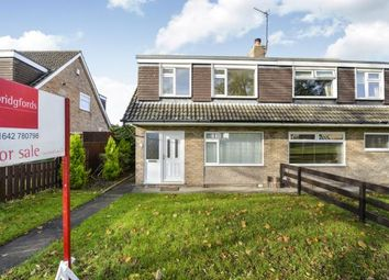 Thumbnail 3 bed semi-detached house for sale in Rutherglen Walk, Eaglescliffe, Stockton-On-Tees, Durham