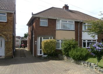 Thumbnail 3 bed semi-detached house for sale in Portsview Avenue, Portchester