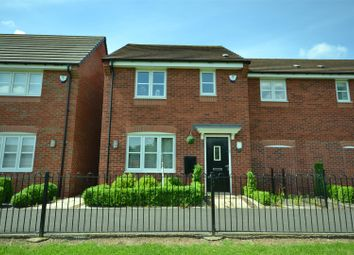 Thumbnail 3 bed semi-detached house for sale in Dragonfly Walk, Leicester