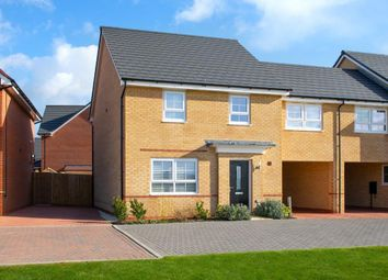 "Thumbnail 4 bedroom semi-detached house for sale in ""Cheltenham"" at The Ridge, London Road, Hampton Vale, Peterborough"