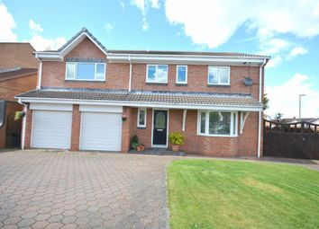 Thumbnail 6 bed detached house to rent in Lesbury Close, Chester Le Street