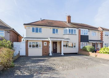 Thumbnail 4 bedroom semi-detached house for sale in Oak Lodge Avenue, Chigwell