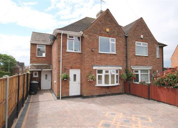 Thumbnail 4 bed semi-detached house for sale in Runswick Drive, Arnold, Nottingham