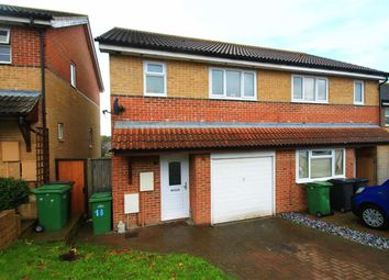 Thumbnail 3 bed semi-detached house for sale in Bunting Close, St Leonards-On-Sea, East Sussex