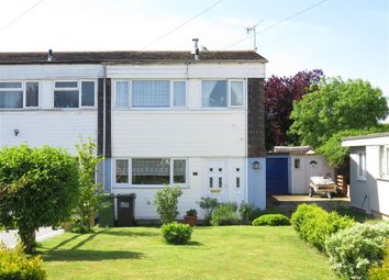 Thumbnail 3 bed end terrace house for sale in Sussex Close, Hailsham