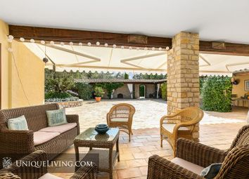 Thumbnail 7 bed villa for sale in Roquefort Les Pins, Grasse, French Riviera