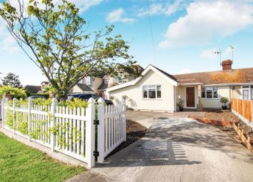 Thumbnail 3 bed semi-detached bungalow for sale in Cleveland Road, Canvey Island