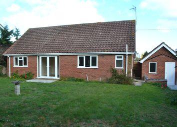 Thumbnail 3 bedroom detached bungalow for sale in Brook Lane, Needham, Harleston