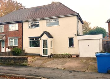 Thumbnail 3 bed semi-detached house to rent in Hilton Road, Featherstone, Wolverhampton