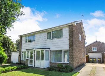 Thumbnail 3 bed semi-detached house for sale in Norman Drive, Stilton, Peterborough