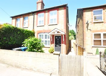 Thumbnail 2 bed semi-detached house for sale in Staines Road, Wraysbury, Staines-Upon-Thames, Berkshire