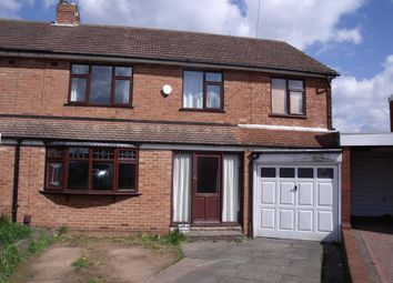 Thumbnail 4 bed semi-detached house for sale in Cherry Orchard Crescent, Halesowen, West Midlands