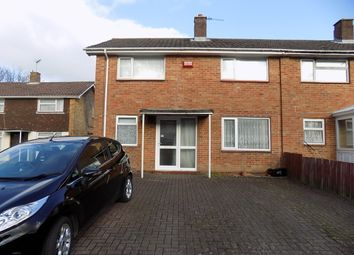 Thumbnail 3 bed end terrace house for sale in Elm Crescent, Hythe