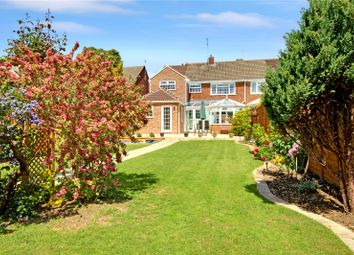 Thumbnail 4 bed semi-detached house for sale in Grange Drive, Stratton, Swindon, Wiltshire