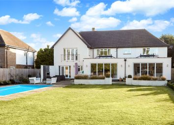 Thumbnail 5 bedroom detached house for sale in Cleves Wood, Weybridge, Surrey