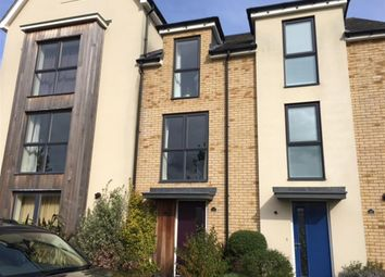 Thumbnail 3 bed town house for sale in Mosquito Road, Upper Cambourne, Cambridge