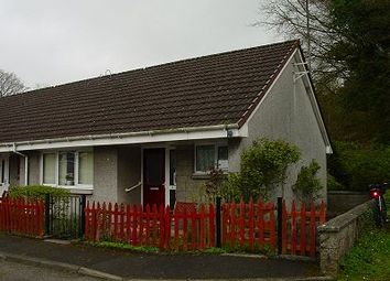 Thumbnail 1 bed terraced bungalow for sale in 9 The Hollow, Creetown, Newton Stewart