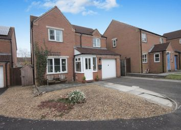 Thumbnail 3 bed detached house to rent in St. Hildas Close, Didcot