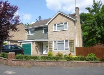 Thumbnail 4 bed detached house to rent in Highbury Crescent, Camberley