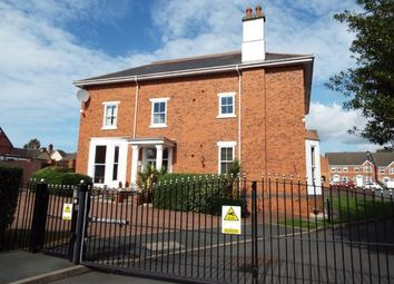Thumbnail 2 bed flat for sale in Hollyoak Way, Cannock, Staffordshire