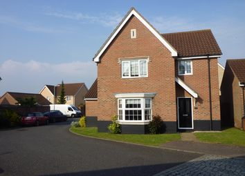 Thumbnail 3 bed detached house for sale in Oak Eggar Chase, Pinewood, Ipswich