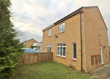 Thumbnail 2 bed semi-detached house to rent in Arlott Crescent, Oldbrook, Milton Keynes