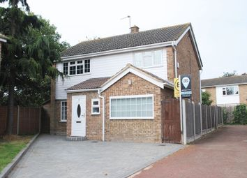 Thumbnail 3 bedroom detached house for sale in Mcdivitt Walk, Leigh-On-Sea, Essex