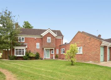Thumbnail 4 bed detached house for sale in Rectory Close, Sawtry, Huntingdon