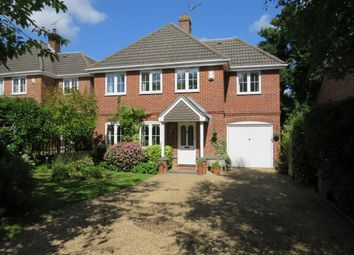 Thumbnail 4 bed detached house for sale in Hawthorn Close, Colden Common, Winchester