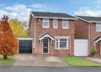 Thumbnail 3 bed link-detached house for sale in Kingscote Close, Church Hill North, Redditch