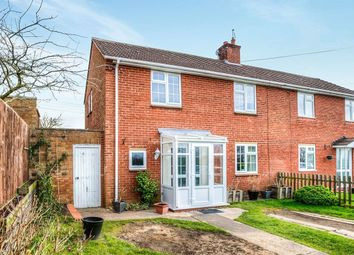 Thumbnail 3 bed semi-detached house for sale in Conway Croft, Dunnington, Alcester