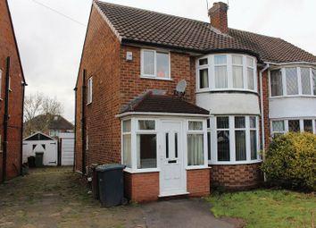 Thumbnail 3 bedroom semi-detached house for sale in Meriden Drive, Kingshurst, Birmingham