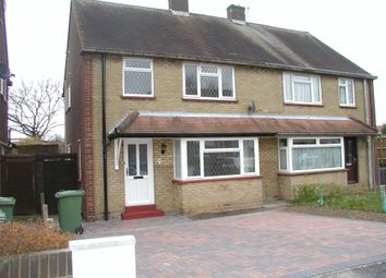Thumbnail 3 bed semi-detached house to rent in Old Essex Road, Hoddesdon