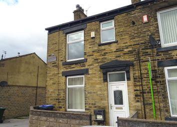 Thumbnail 3 bed end terrace house for sale in Deneside Terrace, Bradford, West Yorkshire