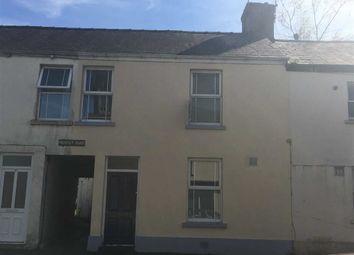 Thumbnail 3 bed terraced house for sale in St. Davids Place, Lammas Street, Carmarthen