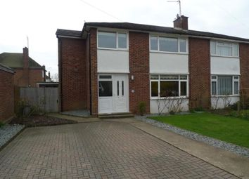 Thumbnail 4 bed semi-detached house for sale in Portland Crescent, Feltham / Ashford Borders