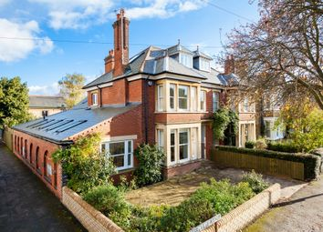 Thumbnail 6 bedroom semi-detached house for sale in De Freville Avenue, Cambridge